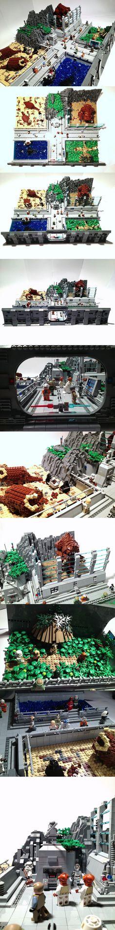 StarWars Zoo #LEGO #StarWars #Zoo #fun