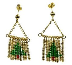 After you deck the halls this holiday season, be sure to deck yourself out too with these fun Beaded Fringe Fir Tree Earrings! Not all Christmas craft ideas have to be for the home. Make some fun Christmas crafts you can wear with this adorable earring pattern.
