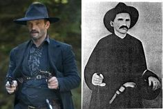 """""""Bad"""" Frank Phillips: Though not my favorite character of the series, he rolled with Jesse and Frank James and Wild Bill Cody. Talk about instant street cred.When the question of who was best suited to lead a pack of bounty hunters against the Hatfields, the McCoy clan turned to him. Good call."""