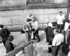 Stanley Kubrick on the set of Jules Dassin's Naked City (1948) for Look Magazine. http://cinephilearchive.tumblr.com/post/61689785716/stanley-kubrick-on-the-set-of-jules-dassins-naked  //  // ]]> Follow @Cinephilia and Beyond  //  // ]]>