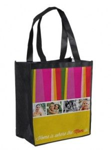 Personalized Mother's Day Tote Bag just $1 Plus Shipping!