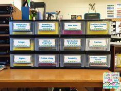 Math, Science, Social Studies......Oh, my!: Classroom Organization: Task Cards - 2nd edition