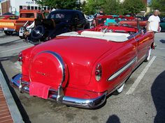 1953 CHEVY CONV with continental kit