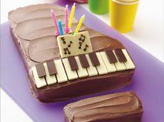 Piano Cake How-To