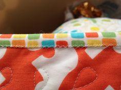 Machine Quilt Binding Tutorial « Sew,Mama,Sew! Blog