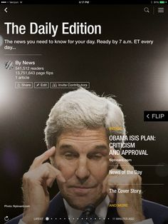Obama's ISIS plan passes, Scotland votes, and Rihanna vs. NFL. Check out today's edition: flip.it/dailyedition