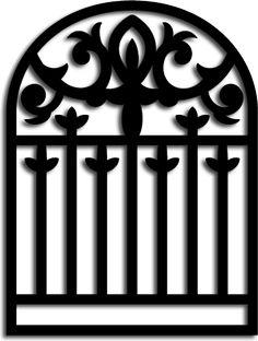 Free SVG File – Sure Cuts A Lot – 10.14.10 – Gothic Gate