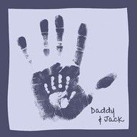 Daddy and son handprint craft