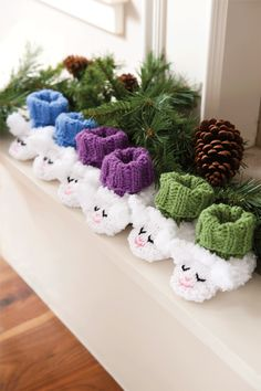 Baby Lamb Booties | Your Knitting Life Magazine