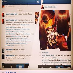 Love this #throwback but, it's not #thursday Lol @faux_heads_hair WERKS Our #indianremy #teamwags #wagmanhair