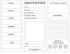 NonFiction Brochure