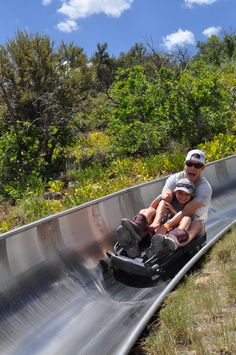 Get out of the Salt Lake heat! Come check out our Alpine Slide!