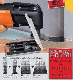 Kit accessori #Multimaster: BEST OF E-CUT lame E-Cut con Multi-attacco Fein #ferramenta #elettroutensili