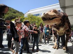 Puppet Festival is this Sunday, April 7! See you and T-rex there!