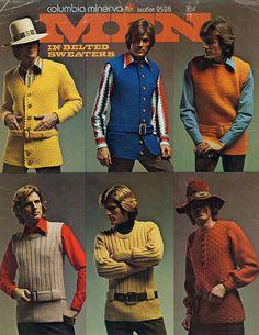 Men in Belted Sweaters...