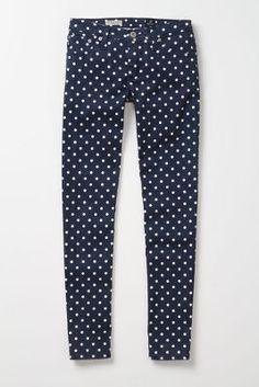 ag polka dot jeans!