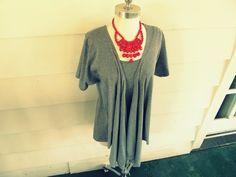 Wobisobi: Draped Shirt Vest