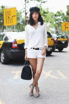 Summer white on white