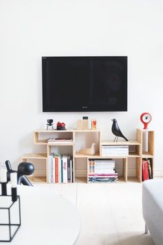 interior design, tv storage, design ann, living rooms, design homes, architects, ann boysen, shelving units, box