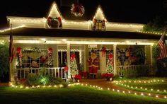 Beautiful Christmas Porch.....