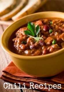 Crock Pot Chili and a bunch of other chili recipes