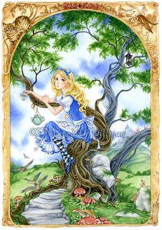 Alice's Tea Time in Wonderland by Meredith Dillman