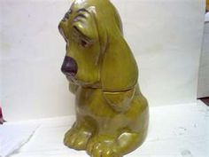 Vintage Hound Dog Cookie Jar
