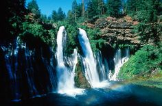Burney Falls, Burney CA © Marsha K. Russell