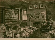 Darwin's studio at Down House.