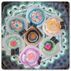 Muffins #crochet #ganchillo   http://somethingsbypinturadecor.blogspot.com.es/