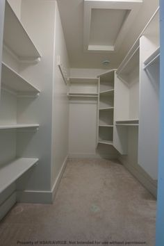 Like the corner shelving  Master closet redo