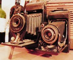 old time cameras