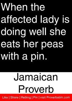 proverb quot, pea
