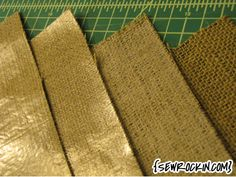 How to Print on Burlap.  Step by step guide.[great tutorial]