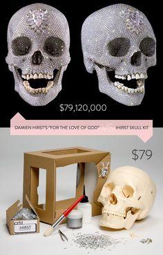 IHIRST skull kit DIY