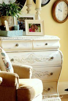 DIY Furniture Refab: Creamy Console