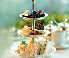 a proper English high tea