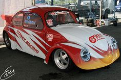 Street racing VW Beetle
