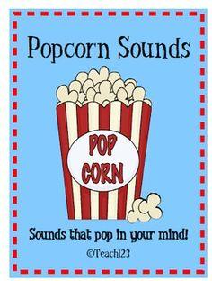 $5 Letter Sounds Popcorn - homework program
