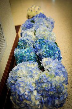 #wedding #Blue Bouquets