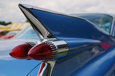 1960's Cadillac coupe fin