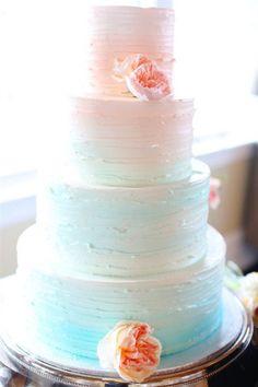 Pastel gradient cake #MinxiiT