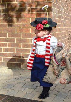 DIY Disney Costumes For Girls: Mary Poppins BGY Kindergarten Disney Themed Christmas Concert