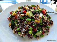Quinoa Mango Salad - (made it today...and it's really good!!)