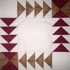 Wild Goose Chase Quilt Block