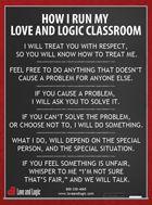 Love and Logic Classroom - love this stuff!