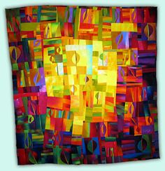 Melody Johnson: Art Quilts - Galleries - Botanicals