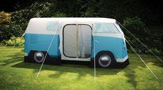 VW Camper tent just like moms old bus