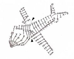 Crochet Plane - Chart