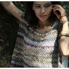 Noro Taiyo Sock Crochet Top (Free)